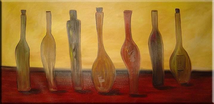 Seven Bottles by Gino Savarino