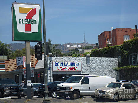 Seven Eleven Hollywood California by Scott Shaw