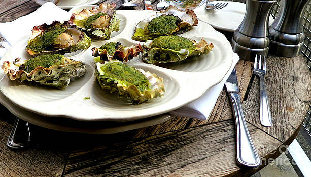 Seven Oysters by Tanya  Searcy