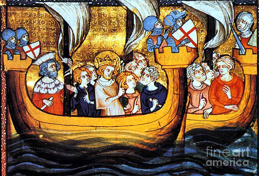 Photo Researchers - Seventh Crusade 13th Century