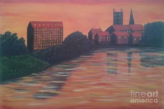 Severn Sunset by John Williams