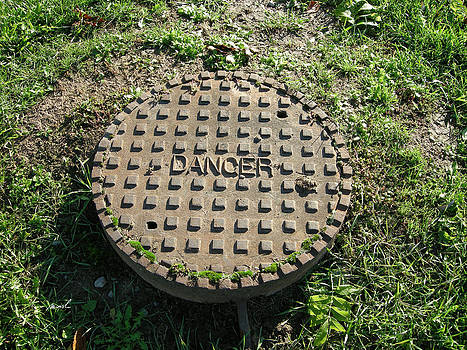 Sewer Danger Sign by The Art of Marsha Charlebois