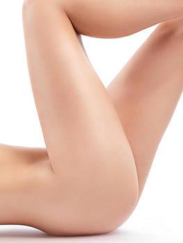 Sexy Nude Woman Legs Closeup by Oleksiy Maksymenko