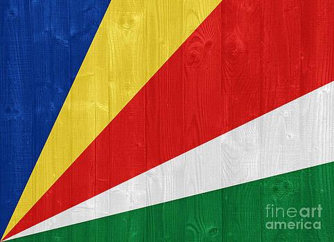 Seychelles flag by Luis Alvarenga