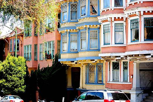 SF Rowhouses by Mamie Gunning