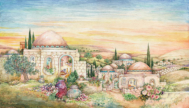 Shabbat Landscape by Michoel Muchnik