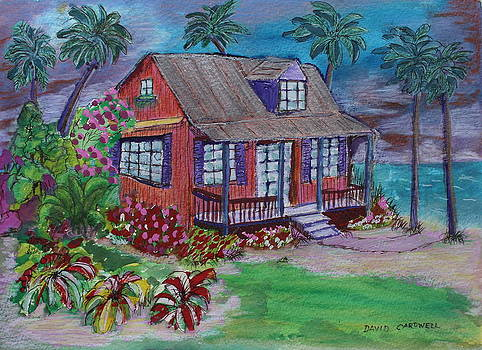 Shack on the Shore by David Cardwell