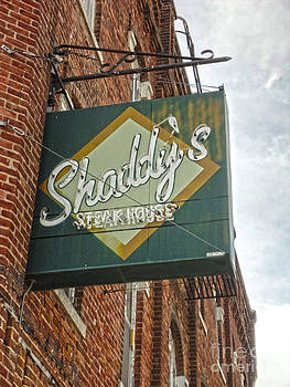 Gregory Dyer - Shaddys Steakhouse Sign Montezuma Iowa