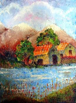 Shades of Indian Village by Tanya Anurag