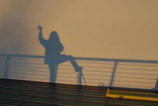 Shadow at the Sun Dial by Mischelle Lorenzen