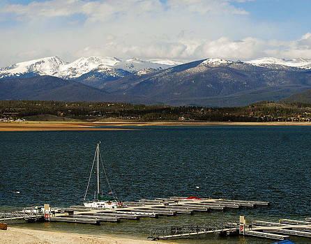 Shadow Lake Colorado by Jerry Moffett