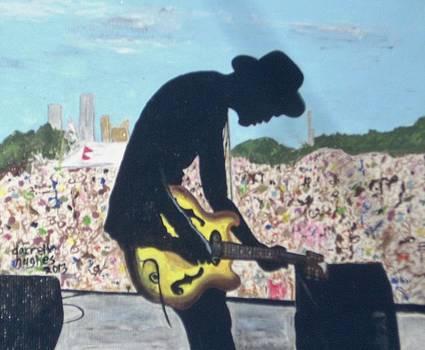 Shadow of a Bluesman by Darrell Hughes