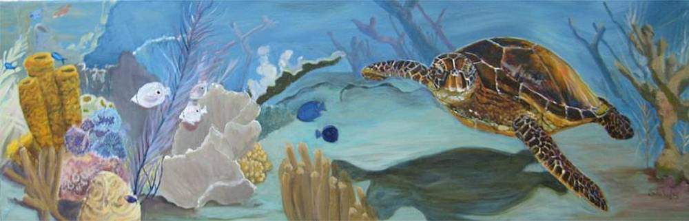 Shadow on the Reef by Linda Kegley