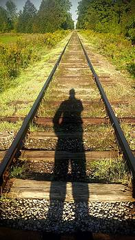 Shadow tracks by Ted Mahy