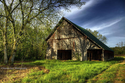 Shadowed Barn by Paul Herrmann