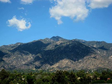 Shadows Of San Gabriel by Melissa McCrann