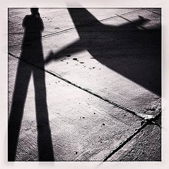 #shadowtime At The #airport by Kurt Iswarienko
