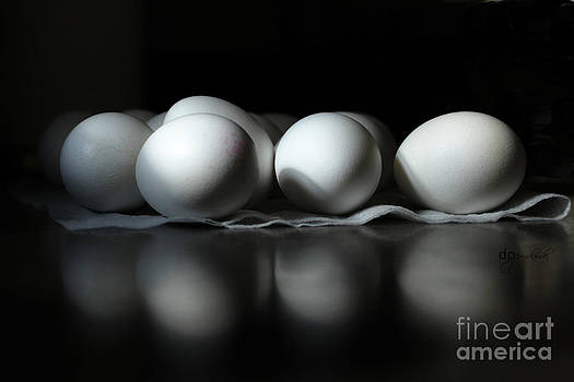 Shady Eggs by Debra Pruskowski