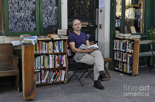 Shakespeare and Company Paris by Tina Osterhoudt