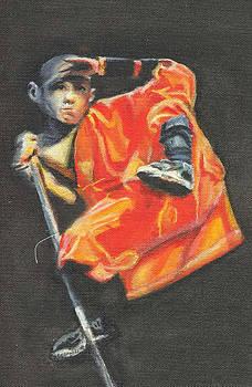 Shaolin phone case by Yan Michalevsky