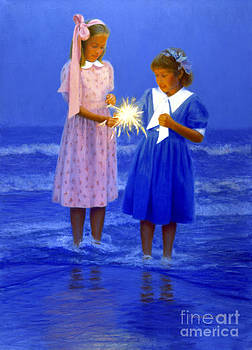 Candace Lovely - Sharing a Sparkler