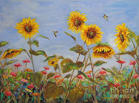 Sharing the Nectar by Brenda Brannon