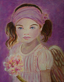 Sharissa Little Angel of New Beginnings by The Art With A Heart By Charlotte Phillips
