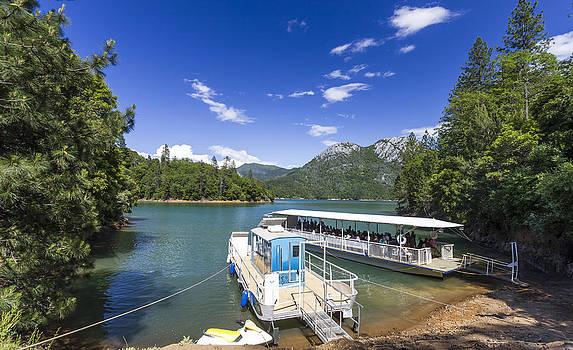 Shasta Lake California by Jianghui Zhang