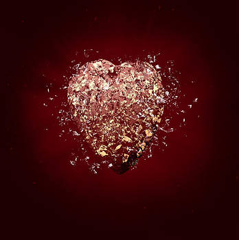 Shattered Heart by David Heger