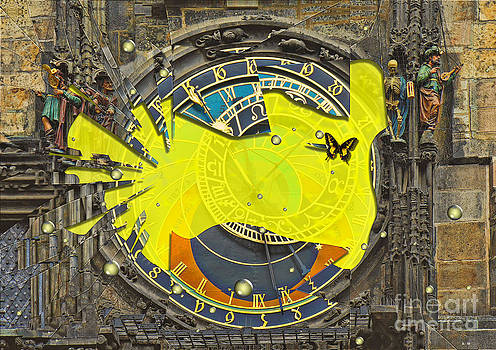 Liane Wright - Shattered - Prague Astronomical Clock
