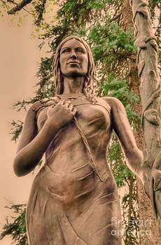 She Holds Her Cross by Kathleen Struckle