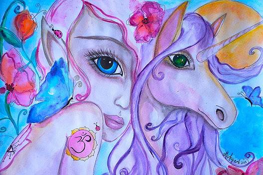 She trusted her Inner Guide by Marley Art