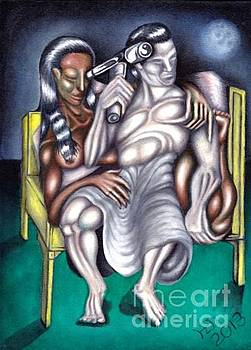 Sheba avec Sulayman by   Drew