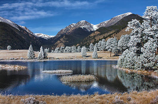 Sheep Lakes in Late October by Darrell E Spangler