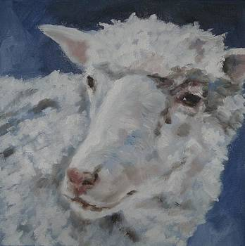 Sheepish Portrait by Veronica Coulston