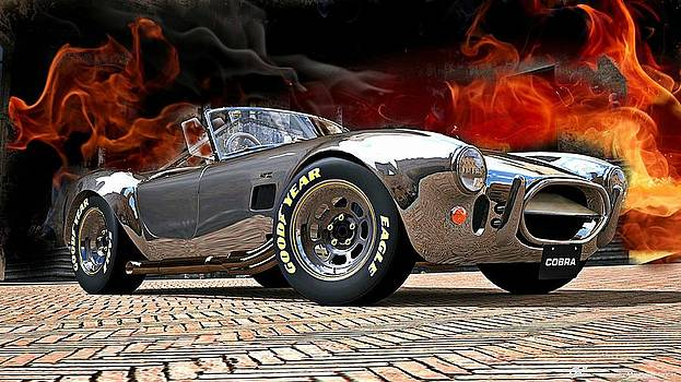 Shelby Cobra 427 Flamin by Kevin Moore