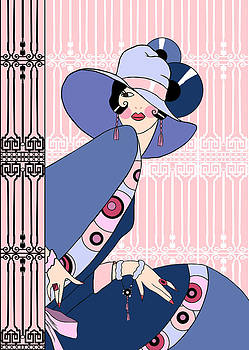 Nancy Lorene - SHELBY in Pink and Blue