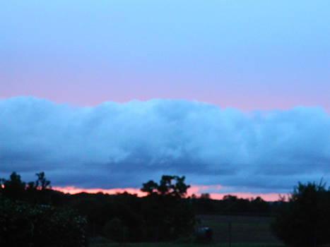 Shelf cloud by Linda Brown