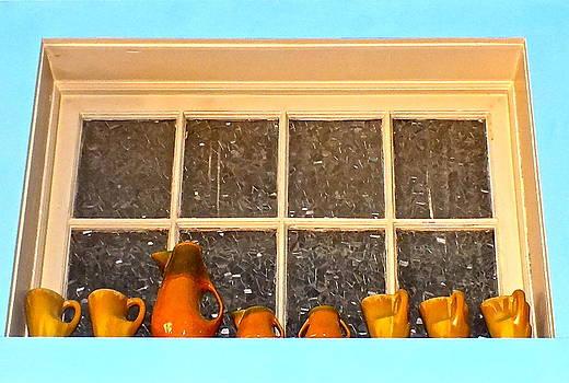 Shelf Pottery by Lesley McCormack