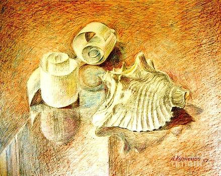 Shells and crafts by Andrey Kuznetsov