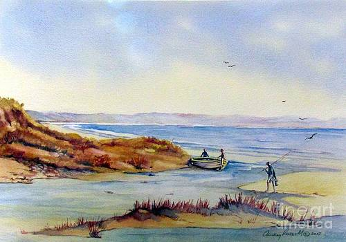 Sheltered inlet South Coast N.SW Australia by Audrey Russill