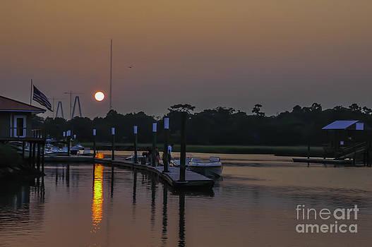 Dale Powell - Shem Creek Sunset