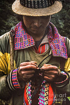 Shepherd Crocheting by Tina Manley