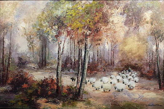 Shepherd in the Forest by Brent Vall Peterson