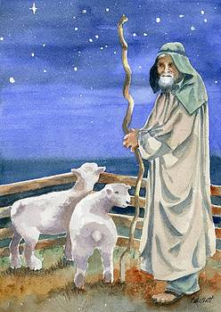 Shepherds Watched Their Flocks by Night by Marsha Elliott