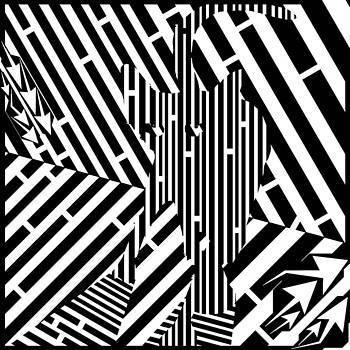 Sheriff Cat Maze by Yonatan Frimer Maze Artist