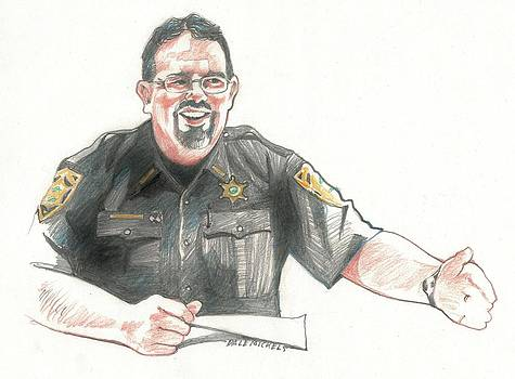 Sheriff Mike Headley by Dale Michels