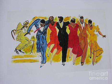 Dance Series-Shim Sham Shimmy by JackieO Kelley