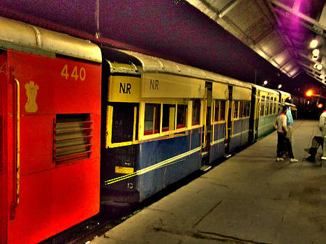 Shimla Toy Train by Salman Ravish