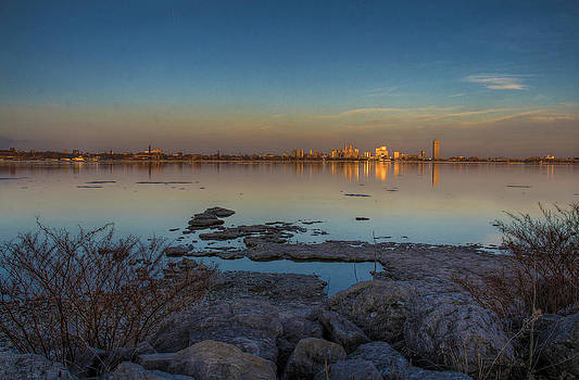 Shimmering in the distance by Gary Campbell